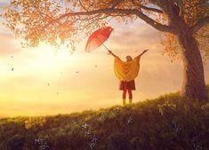 child with red umbrella stock photo © Konstantin Yuganov (choreograph) ( Energie Positive, Red Umbrella, Positano, Royalty Free Stock Photos, Bring It On, Children, Vie Positive, Stella, Indigo