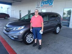 Congratulations Todd On Your New 2015 Honda CR V. From Vilay And Findlay  Honda