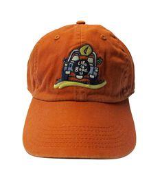 Life is Good Men's Orange Cap