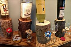 """IT'S LOG! IT'S LOG! IT'S BIG, IT'S HEAVY IT'S WOOD! This Log Liquor Dispenser is the no less than the decanter Ron Swanson intended – each unit definitively """"one of a kind"""". That's because Ohio WoodWorking Shop crafts each dispenser from genuine urban harvested Ohio hardwood trees. No two 8″ dispensers are alike, though they …"""