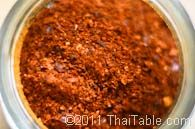Ground Dried Chili Pepper Recipe - ThaiTable.com
