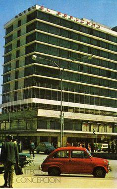 Hotel Araucano Caupolicán esquina Barros Arana Arquitecto Julio Ramos Lira 1967(597×960)