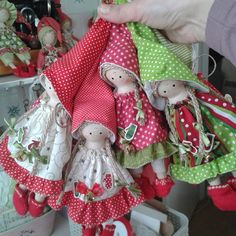 Авторские куклы Лучии Рошка - 3 Декабря 2015 - Кукла Тильда. Всё о Тильде, выкройки, мастер-классы.