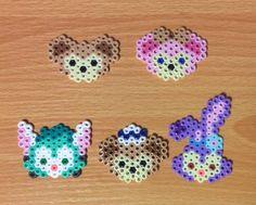 イメージ 1 Pearl Beads Pattern, Hama Beads Patterns, Loom Patterns, Beading Patterns, Perler Bead Disney, Pokemon Perler Beads, Pearler Beads, Loom Bands, Bead Crafts