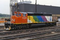 """Canadian National """"CN Expo 86"""" SD40-2W # 5334"""