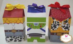 Dypapely Mimos Personalizados: Caixinhas para Lembrancinhas e Cachepô do Toy Story