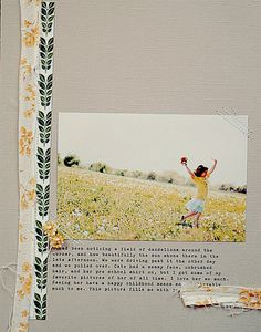 i never scrapbook, but if it looked like this..