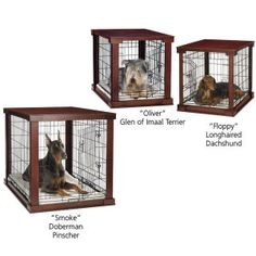 Wood Frame Crate - Dog Beds, Dog Harnesses & Collars, Dog Clothes & Gifts for Dog Lovers | In The Company of Dogs