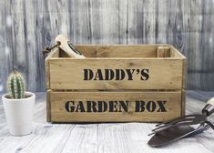 Handmade Father's Day Gifts, Personalized Gifts For Men, Personalized Christmas Gifts, Garden Tool Organization, Garden Tool Storage, Garden Tool Shed, Garden Boxes, Gifts For Father, Gifts For Him