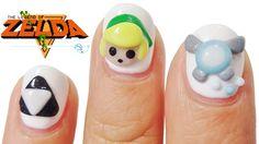 How To 3D Nails!!! | LEGEND OF ZELDA Link+ Triforce + Ciela |
