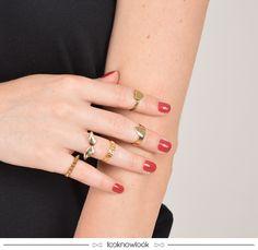 Anéis de Falange #moda #acessórios #anel #bijoux #iorane #dourado #estilo #tendência #trend #shop #ecommerce #compreonline #loja #look #lnl #looknowlook