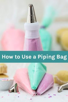 In this step-by-step tutorial, you'll learn how to use a piping bag including how to fill a piping bag, working with or without couplers and helpful tips to cleaning your piping bag.#pipingbag #bakingtutorials #frostingtutorials