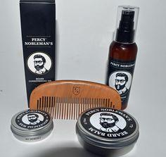 Découvrez la marque anglaise Percy Nobleman et sa gamme de soins pour la barbe qui vous permettront d'entretenir votre toison