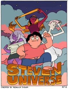 The Steven Universe pilot is online! Here is a very old promo poster I did before the pilot was even complete! I can not believe how much th...