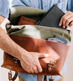 Wear it as a backpack or shoulder bag