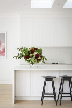 Julia & Sasha share kitchen, mudroom and laundry - The Interiors Addict