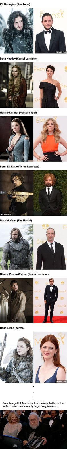 The Game of Thrones Cast Looked Almost Unrecognizable From Their Westeros Alter Egos (At The Emmys)