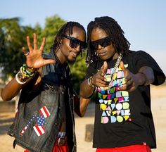 The dynamic duo, Radio and Weasel's new song titled 'Julaina' featuring UK based Ugandan afro-beat singer, Vjoj, has gone viral ... Listen/Download and have a nice day!