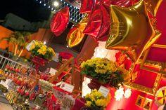 Festa do Homem de Ferro Vermelho e Amarelo