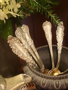 Silver spoons at your coffee bar