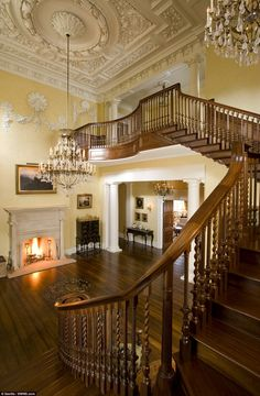 The property features a number of open fires and logs can be brought in via a special service lifts to individual rooms