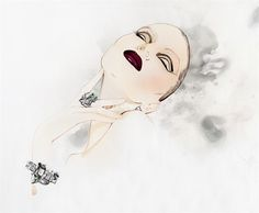 Illustration for jewellery by Nuno DaCosta