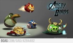 The Angry Avengers