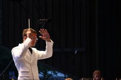 Music Director and Conductor Teddy Abrams. Photo by Bryan Nealy. #brittfestivals #teddyabrams #classical