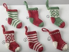 Jo, I loved the mini stockings you made for the girls last year so much.  Do you think I'd be able to have a go? Is this like the pattern you used?? X x x
