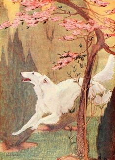 """Written by Walter A. Dyer, the excellent dog illustrations are indicated to be made by the """"noted artist and illustrator Charles Livingston Bull"""". Art And Illustration, Greyhound Kunst, Russian Wolfhound, Dog Paintings, Dog Portraits, Dog Art, Art Inspo, Photo Art, Dog Lovers"""