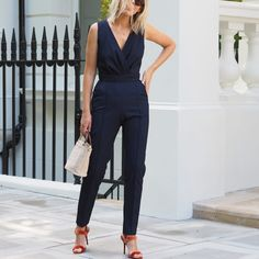 Occasionwear, the word that fills me with dread every summer. Fascinators, florals, taffeta and chartreuse spring to mind - none of which are really my thing. Bright Heels, The Frugality, Old Dresses, Beautiful Blouses, Jumpsuit Dress, Occasion Wear, Dress Codes, Formal Wear, Street Style