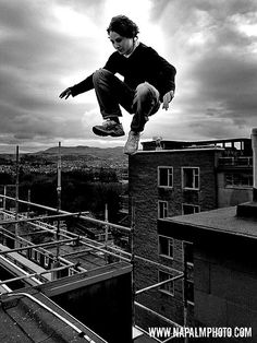 Parkour in the air