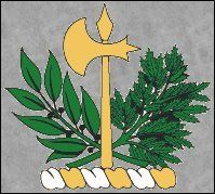 Battle Axe Crest, usable by all branches of Clan Maclean.