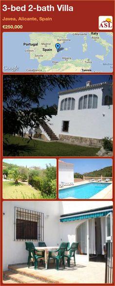 3-bed 2-bath Villa in Javea, Alicante, Spain ►€250,000 #PropertyForSaleInSpain