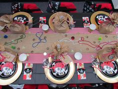 Pirate Party Table Decor Ideas