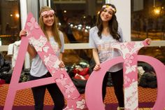 Alpha Phi at Boston University #AlphaPhi #APhi #BidDay #letters #sorority #BU
