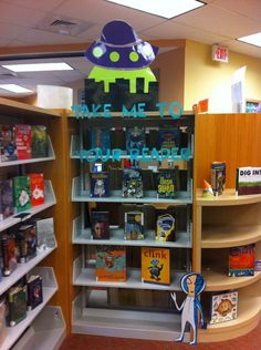 Take me to your Reader: Teen Read Week display inspiration