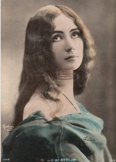 Cléopatra Diane de Mérode (27 September 1875 – 17 October 1966) was a French dancer of the Belle Époque.
