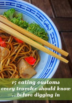 15 eating customs every international traveler should know before digging in #food #travel