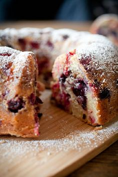 Mixed Berry Pound Cake by Crepes of Wrath, via Flickr
