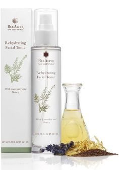 BeeAlive Spa Essentials Rehydrating Facial Tonic (All-Natural) by BeeAlive. $24.95. With Lavender and Honey. Reduces the Appearance of Redness. For All Skin Types. All-Natural, Brings Your Skin to Balance. Money Back Guarantee within 120 days of your date of purchase!. A refreshing, multi-purpose, facial mist, featuring a blend of lavender and honey, for all skin types. Lavender calms and soothes the skin, while honey hydrates. Witch hazel clarifies and reduces the...