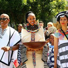 Do you want to craft a long gown from your African fabrics and don't have an idea of where to start or what to make? Then this LOVELY XHOSA ATTIRE is for you. Xhosa Attire, Traditional Fabric, What To Make, African Fabric, Wedding Things, Fabrics, Gowns, Inspired, Unique