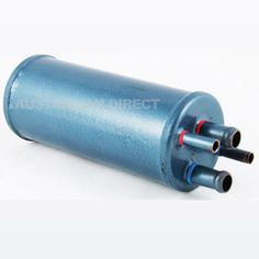 Helton Heat Exchanger for onboard hot water from your vehicle.