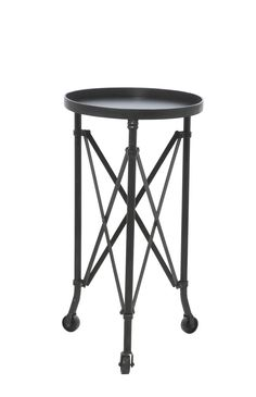'Otis' Metal Round Table from Domayne - Great lamp table option $149