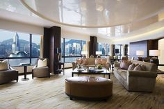 Sheraton Hong Kong Hotel & Towers—Towers Penthouse Suite - Lounge