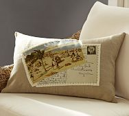 PB has a great selections of throw pillows and covers.