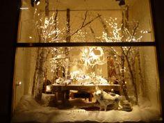anthropologie christmas window displays | ... : White on White: Ralph Lauren, Anthropologie, ABC & Bergdorf Goodman