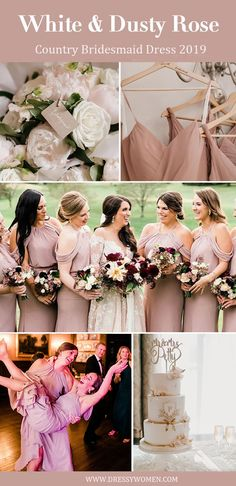 cold shoulder long bridesmaid dresses, cheap chiffon wedding party dresses, simple sheath bridesmaid dresses #dressywomen #weddingideas #weddingpartydresses #bride #pink #bridesmaids