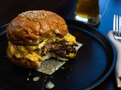 Husk cheeseburger at Husk; Charleston, SC