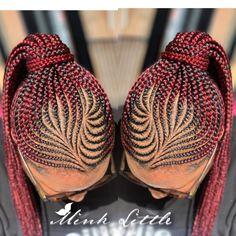 15 simple Ghana weaving hairstyles every lady will love to rock-operanewsapp Latest Ghana Weaving Hairstyles, Latest Ghana Weaving Styles, Short Box Braids Hairstyles, Braids Hairstyles Pictures, Braided Ponytail Hairstyles, Braided Hairstyles For Black Women, African Braids Hairstyles, Stylish Hairstyles, Prom Hairstyles